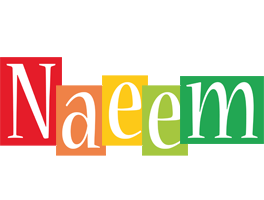 Naeem colors logo