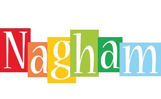 Nagham colors logo