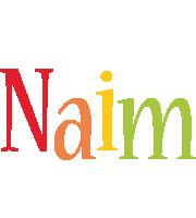 Naim birthday logo