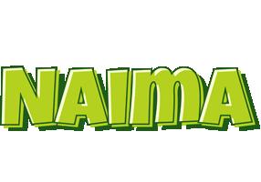 Naima summer logo