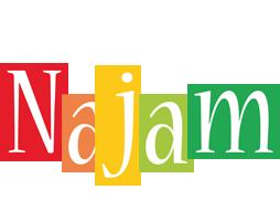 Najam colors logo