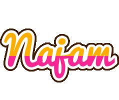 Najam smoothie logo