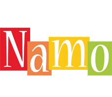 Namo colors logo