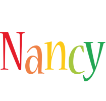 Nancy birthday logo