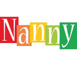 Nanny colors logo