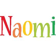 Naomi birthday logo