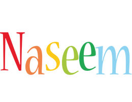 Naseem birthday logo