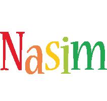 Nasim birthday logo