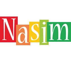Nasim colors logo