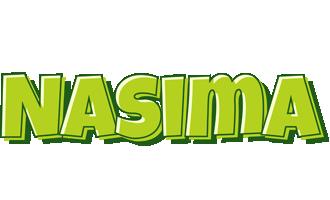 Nasima summer logo