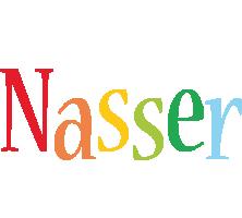 Nasser birthday logo
