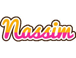 Nassim smoothie logo