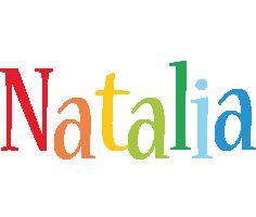 Natalia birthday logo