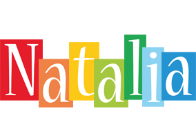 Natalia colors logo