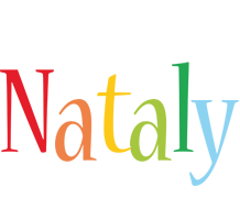 Nataly birthday logo