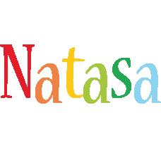 Natasa birthday logo