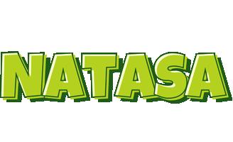 Natasa summer logo