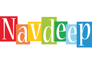 Navdeep colors logo