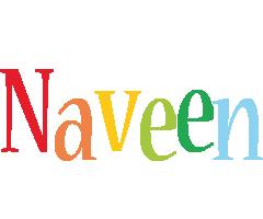 Naveen birthday logo