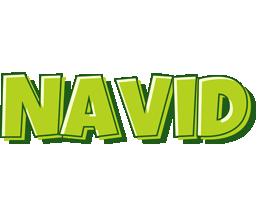 Navid summer logo