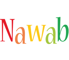 Nawab birthday logo