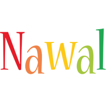 Nawal birthday logo