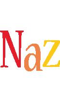 Naz birthday logo