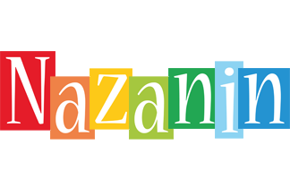 Nazanin colors logo