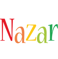 Nazar birthday logo