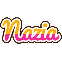Nazia smoothie logo