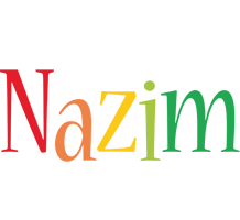 Nazim birthday logo