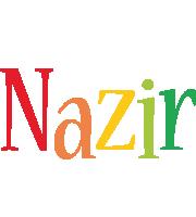 Nazir birthday logo