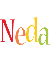 Neda birthday logo