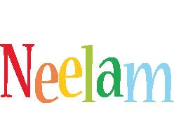 Neelam birthday logo