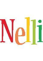 Nelli birthday logo