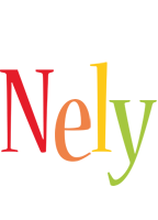 Nely birthday logo