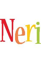 Neri birthday logo