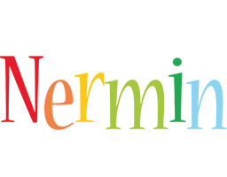 Nermin birthday logo