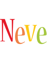 Neve birthday logo