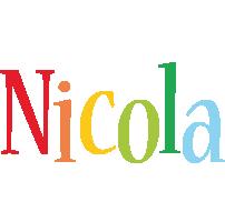 Nicola birthday logo