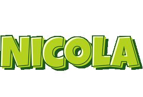 Nicola summer logo