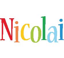 Nicolai birthday logo