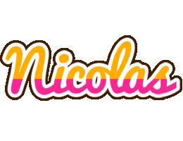 Nicolas smoothie logo