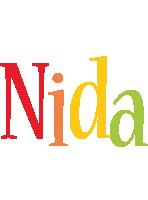 Nida birthday logo