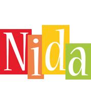 Nida colors logo