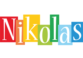 Nikolas colors logo