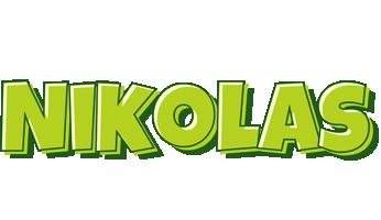 Nikolas summer logo