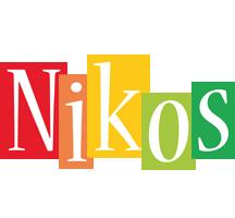 Nikos colors logo