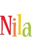 Nila birthday logo