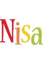 Nisa birthday logo